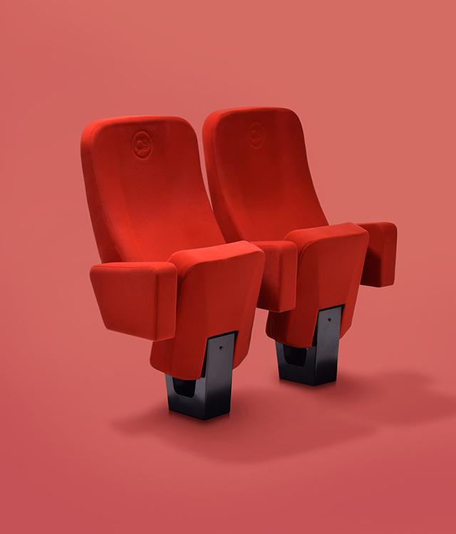 Cinema armchairs